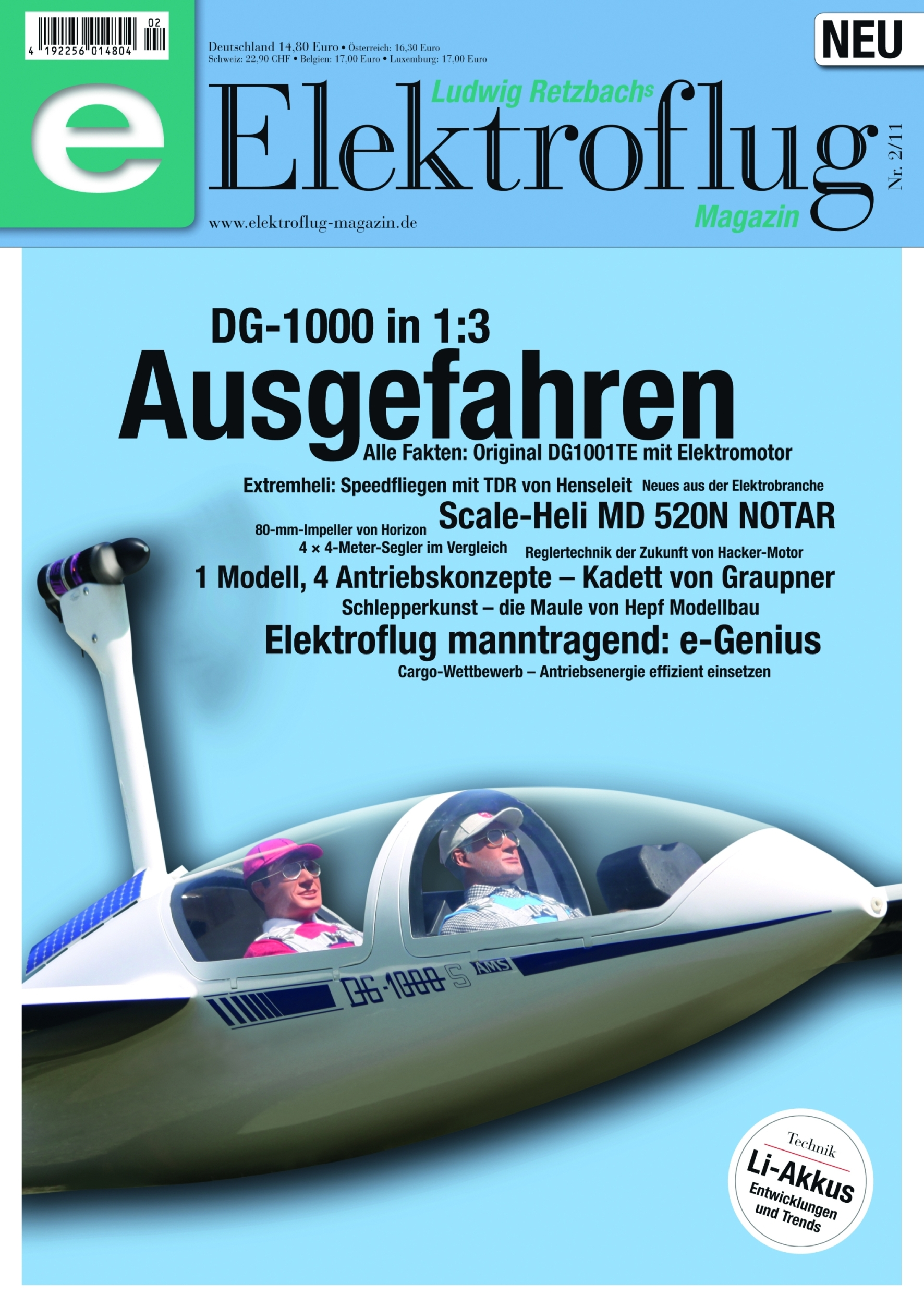 Elektroflug-Magazin 2/2011