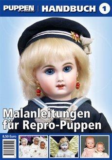 PUPPEN & Spielzeug-Handbuch – Malanleitungen für Repro-Puppen